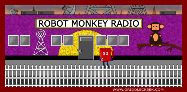 Design Robot Monkey Studio