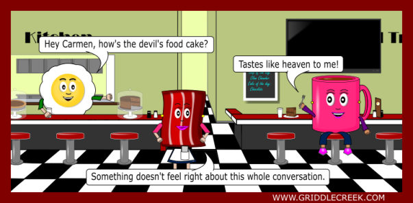 Design Devil Food Cake