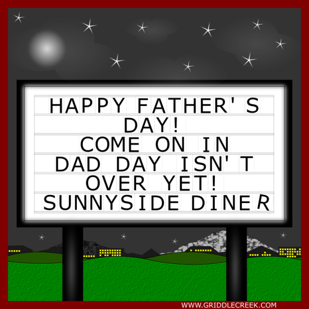 Design Marquee Father's Day