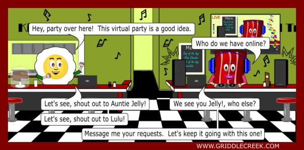Design Virtual party
