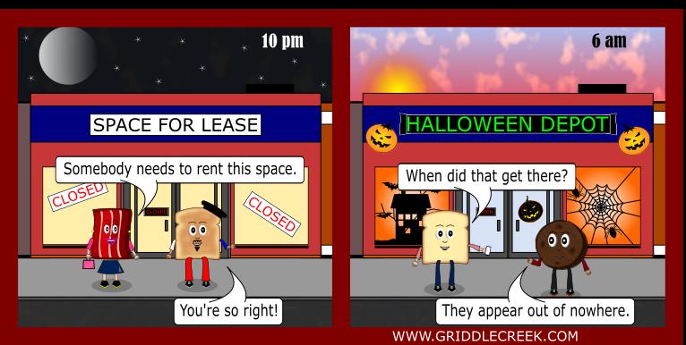 Design Halloween Store